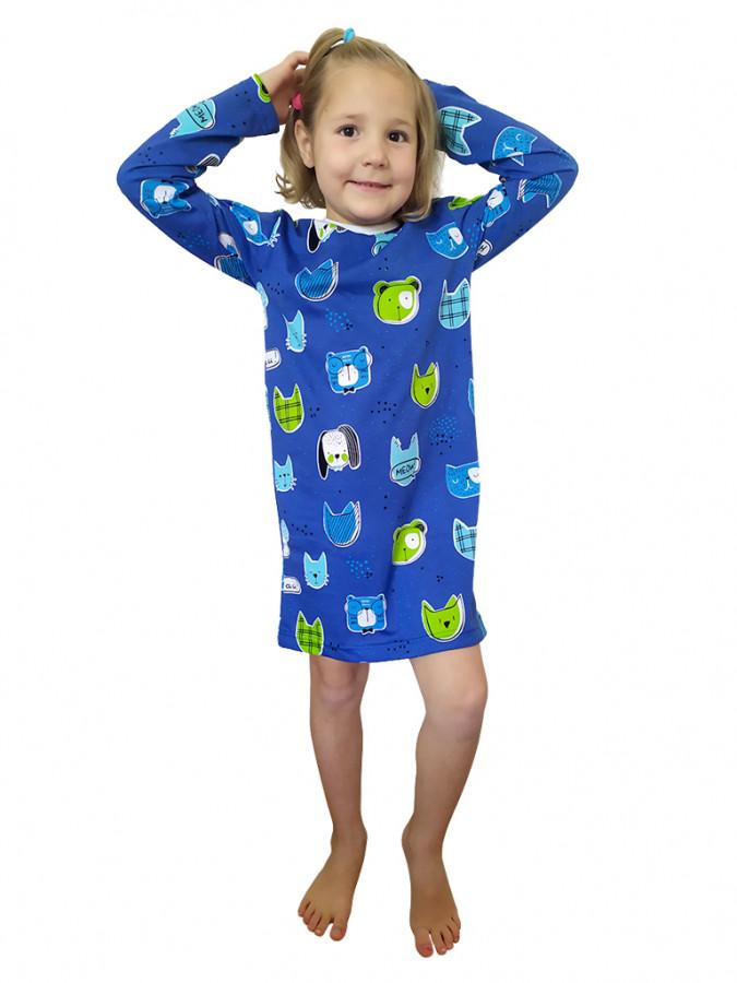 EVONA a.s. Dívčí noční košile ROZÁLKA 619 - Dívčí noční košile ROZÁLKA 619 619 120