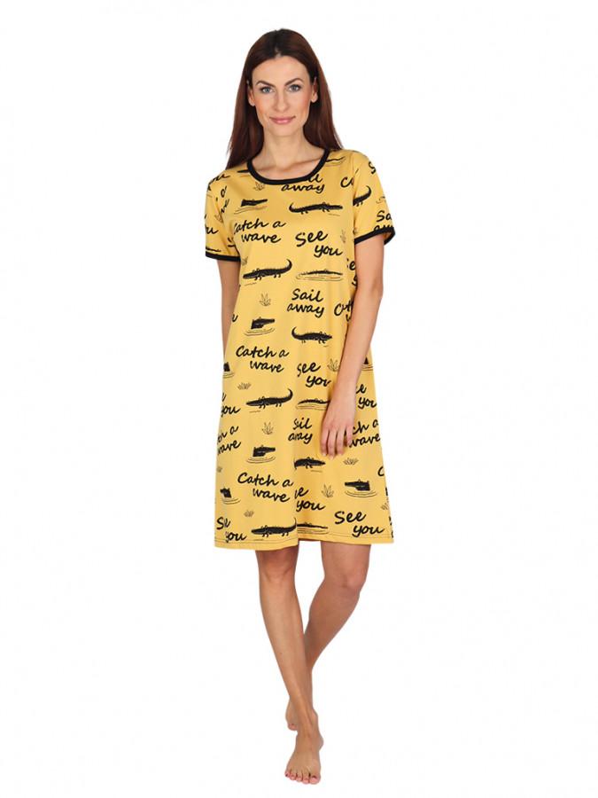Levně Dámská noční košile P1411 646 - P1411 646 XXL