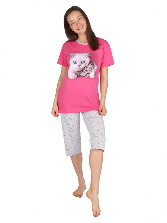 Levně Dívčí 3/4 pyžamo LOOK - P LOOK BASS 158-164