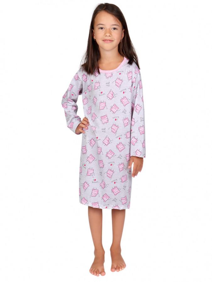 EVONA a.s. Dívčí noční košile ROZÁLKA 407 - Dívčí noční košile ROZÁLKA 407 407 100