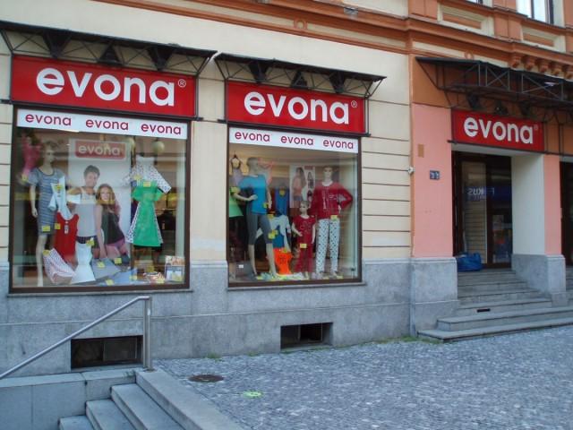 Prodejna EVONA Jablonec nad Nisou