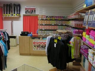 Prodejna EVONA Šumperk