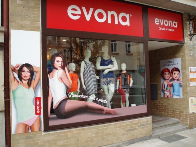 Prodejna EVONA Tábor
