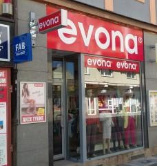Prodejna EVONA Hradec Králové