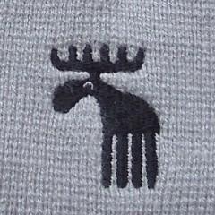 Pletená čepice NORDIC šedá č.2