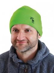 Pletená čepice REFLEX zelená č.1
