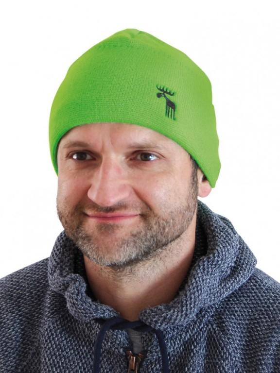 Pletená čepice REFLEX zelená