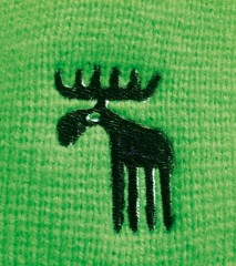 Pletená čepice REFLEX zelená č.2