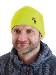 Pletená čepice REFLEX žlutá č.1