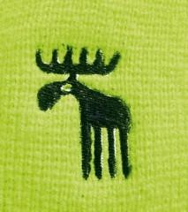 Pletená čepice REFLEX žlutá č.2
