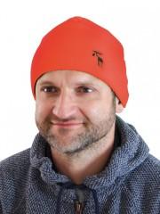 Pletená čepice REFLEX oranžová č.1