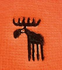 Pletená čepice REFLEX oranžová č.2