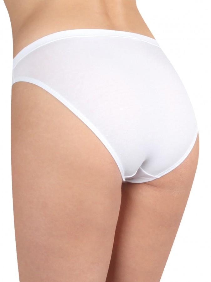 Dámské klasické kalhotky SLIPS bílé  9f8a8f4685