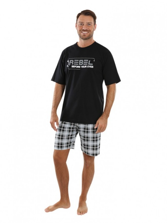 Pánské krátké pyžamo REBEL