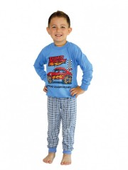 Chlapecké dlouhé pyžamo RACING č.1