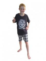 Chlapecké krátké pyžamo AUTOMOBILE č.1