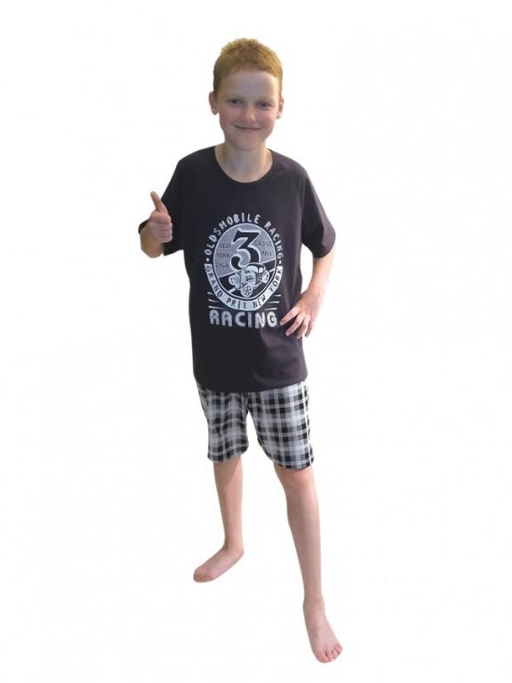 Chlapecké krátké pyžamo AUTOMOBILE