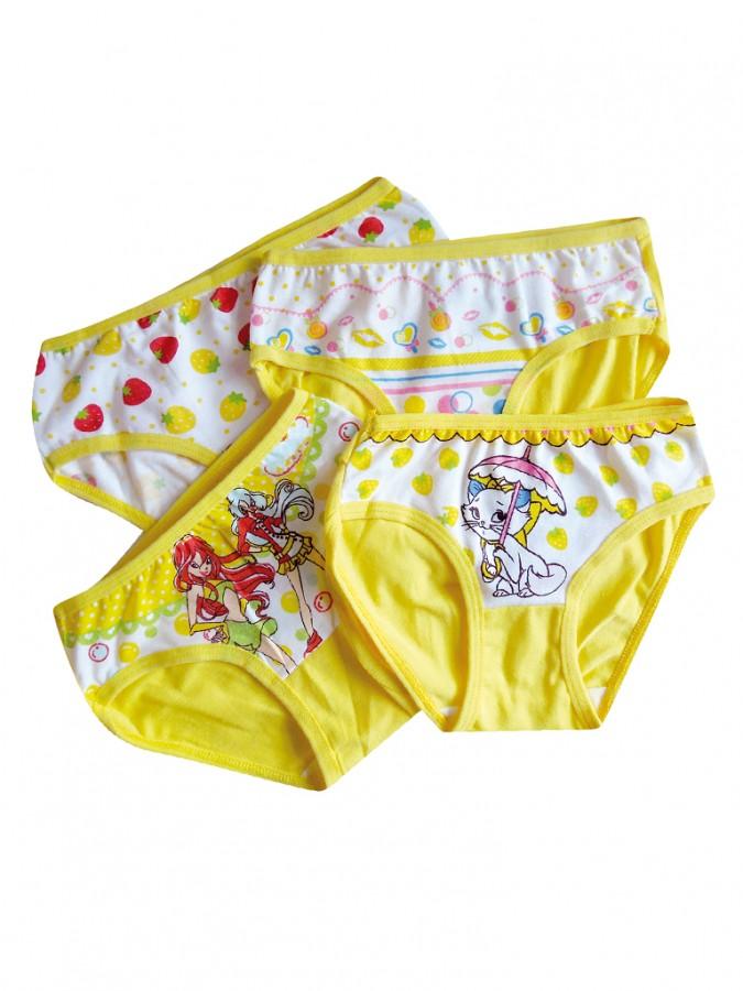 Dívčí kalhotky K890 žluté  84c98df68c
