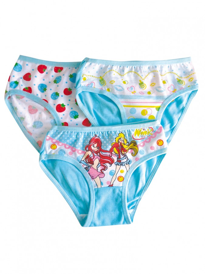 Dívčí kalhotky K890 azurové  879d849f3d
