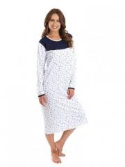Dámská noční košile P MATYLDA modrá č.1