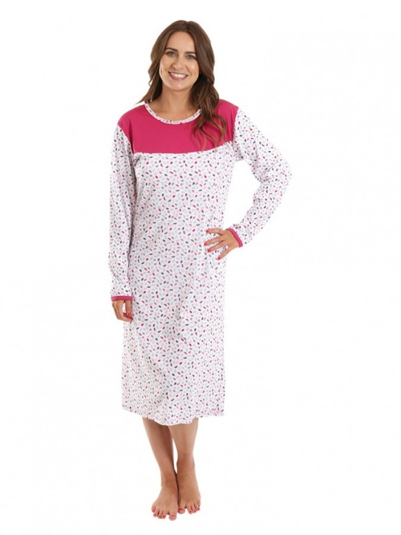Dámská noční košile P MATYLDA růžová