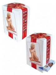 Dárkové balení 10-ti párů ponožek POLO tělových č.2