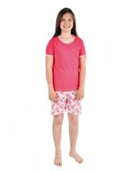 Dívčí pyžamo TAMARA srdíčka č.1