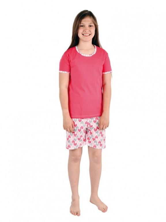 Dívčí pyžamo TAMARA srdíčka