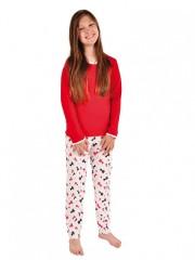 Dívčí pyžamo P 1414 kočičky č.1