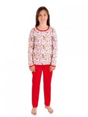 Dívčí pyžamo P 1413 eiffelovky č.1