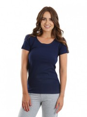 Dámské triko SISA tmavě modré č.1