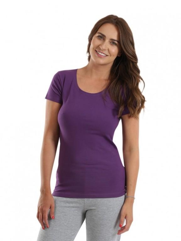 Dámské triko SISA fialové