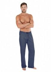 Pánské pyžamové kalhoty P JEANS tmavé č.1