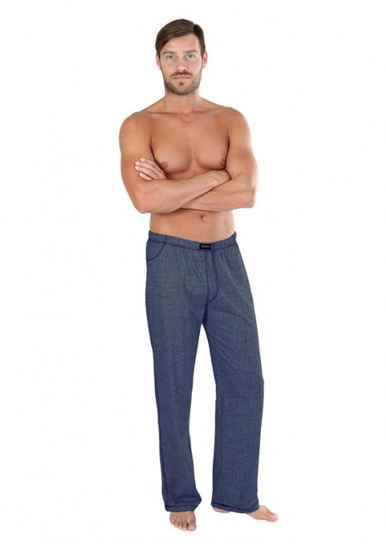 Pánské pyžamové kalhoty P JEANS tmavé