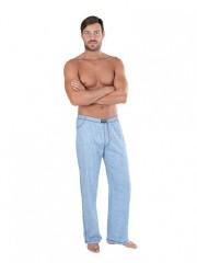 Pánské pyžamové kalhoty P JEANS světlé č.1