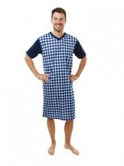 Pánská noční košile KEVIN modrá č.1