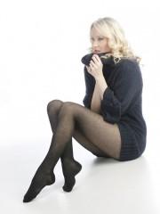 Bavlněné punčochové kalhoty FANY 999 černé