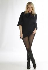 Bavlněné punčochové kalhoty FANY 999 černé č.2