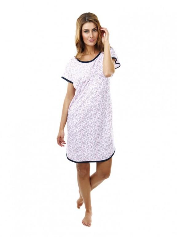Dámská noční košile P1601 kašmír