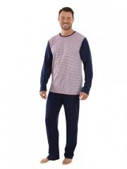 Pánské dlouhé pyžamo TOMAS 328 č.1