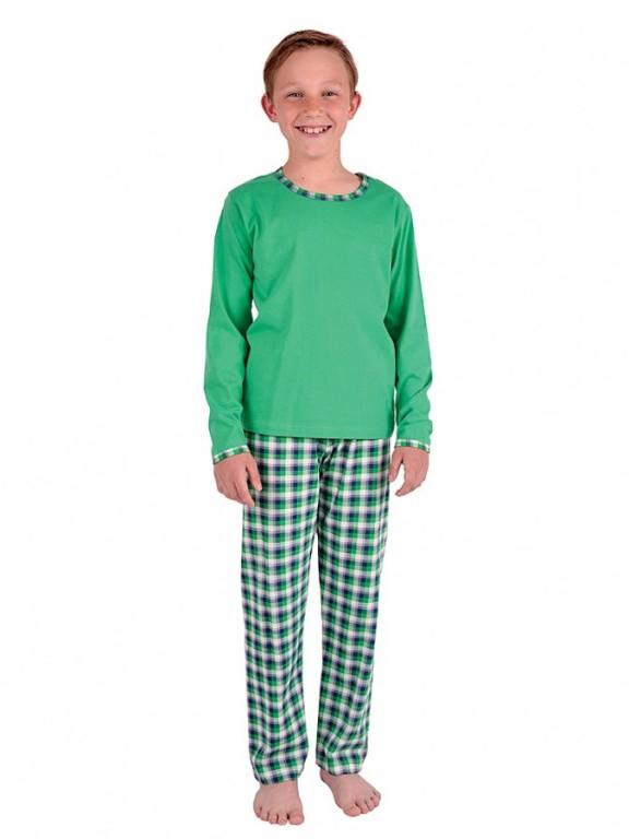 Chlapecké pyžamo LEXA zelené