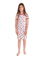 Dívčí noční košile P1415 kočičky č.1
