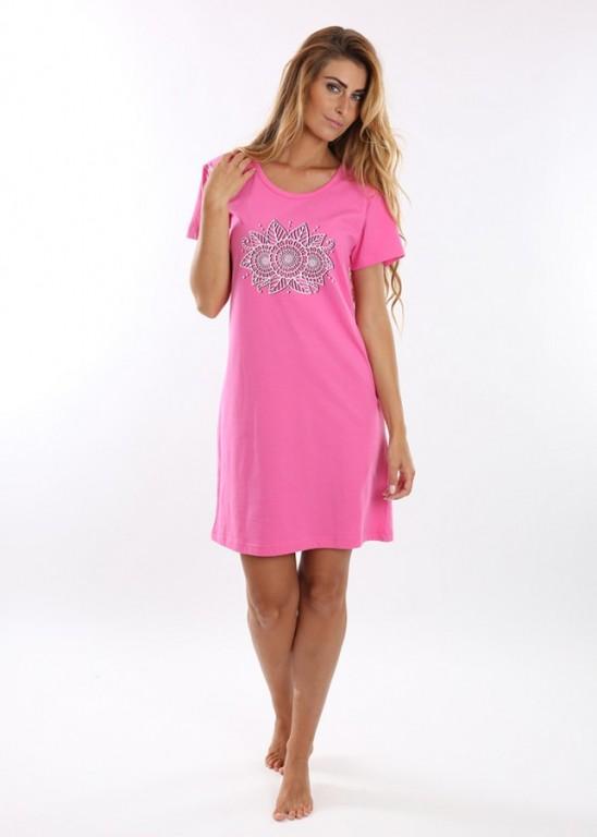 Noční košile VERONA růžová