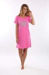 Noční košile VERONA růžová č.2