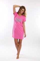 Noční košile VERONA růžová č.3