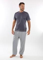 Pánské funkční triko BOSTON šedé č.3