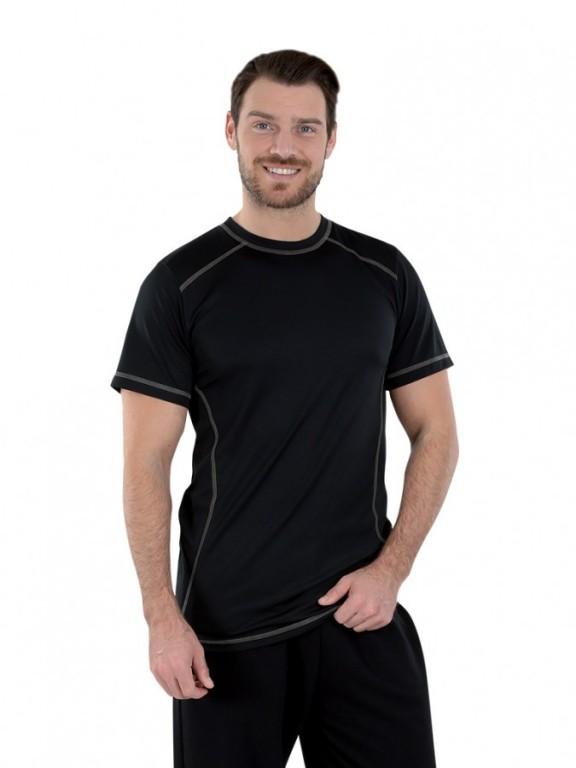 Pánské funkční triko BOSTON černé