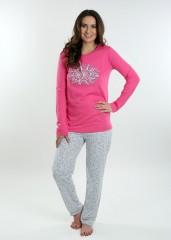 Dámské pyžamo BRENDA růžové č.1