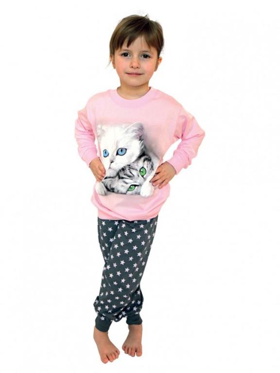 Dívčí dlouhé pyžamo MAJKA