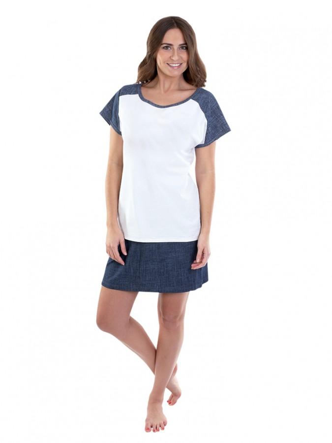 Dámské letní šaty JEANS P1704  b5b6199f0d